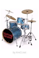 Screenshot of Virtual Drums