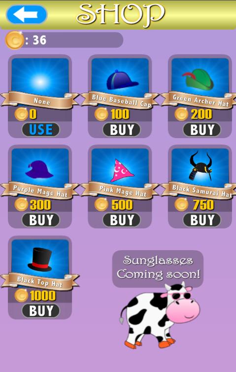 Floppy Cow - screenshot