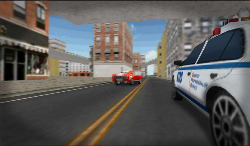 Traffic Police Car Driving 3D- screenshot