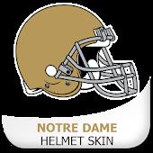 Notre Dame Helmet Skin
