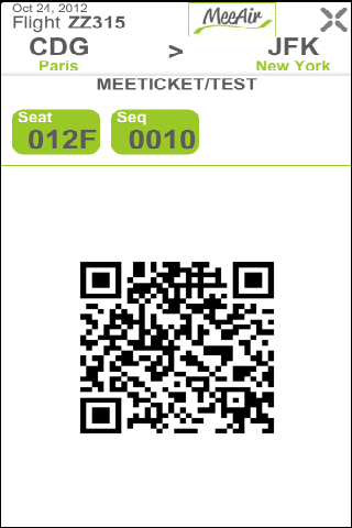 MeeTicket - screenshot