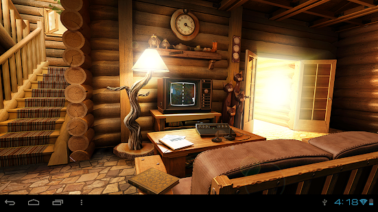 My Log Home iLWP FREE - screenshot thumbnail
