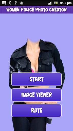 Women Police Photo Creator