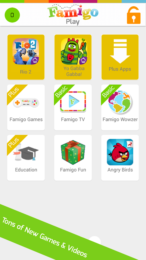 Famigo: Child Safety Lock - screenshot