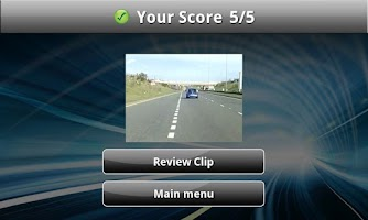 Screenshot of Hazard Perception Test Vol. 1