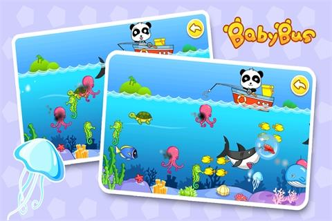 Baby Fishing by BabyBus - screenshot