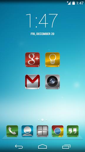 Glass - Icon Pack  screenshots 2