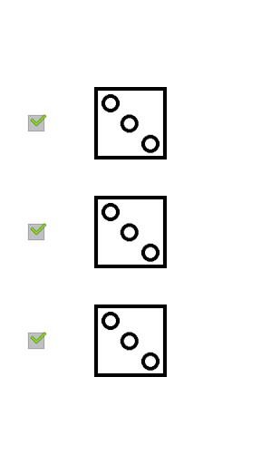 休閒必備APP下載 Three dice without advertising 好玩app不花錢 綠色工廠好玩App
