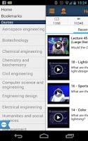 Screenshot of My Open Courses
