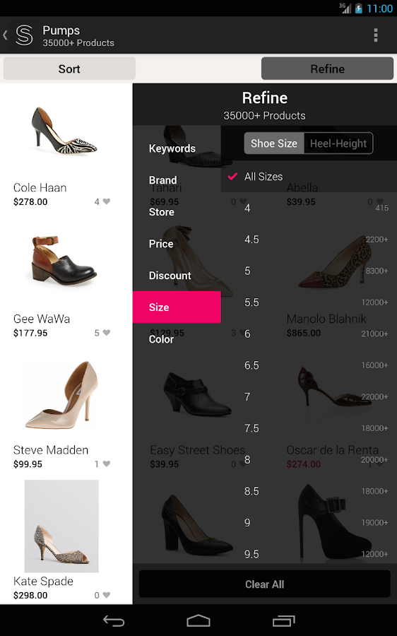 ShopStyle : Shopping Made Easy- screenshot