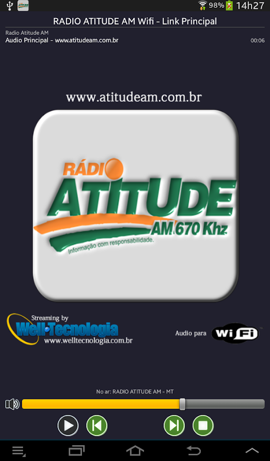 RADIO ATITUDE AM- screenshot