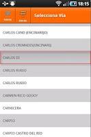 Screenshot of Catastro España