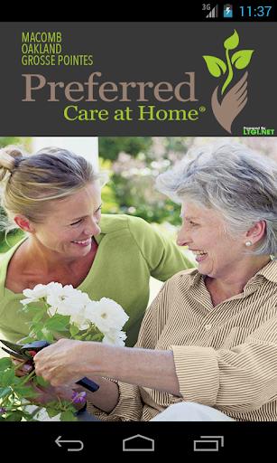 Preferred Care - Caregiver