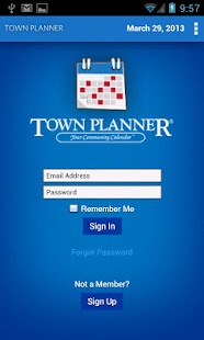 Town Planner Events Calendar- screenshot thumbnail
