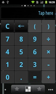Calculator Widget FREE motifs - screenshot thumbnail