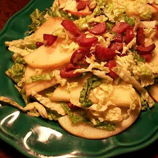 Polish Apple and Cabbage Salad.
