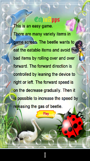 Kids Player Beetle Game