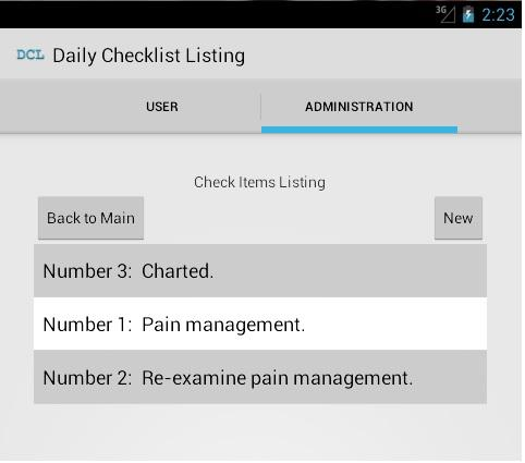 YPMM - Patient Room Checklist
