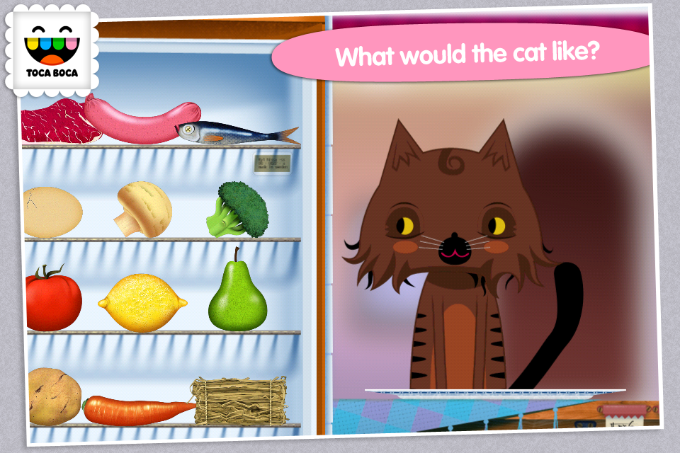 Toca Kitchen - screenshot