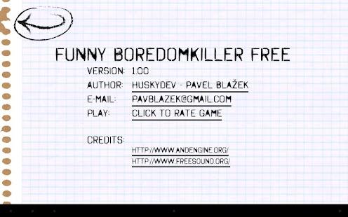 Funny BoredomKiller Free - screenshot thumbnail