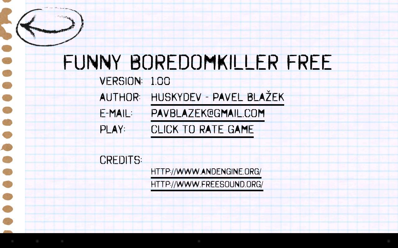 Funny BoredomKiller Free - screenshot