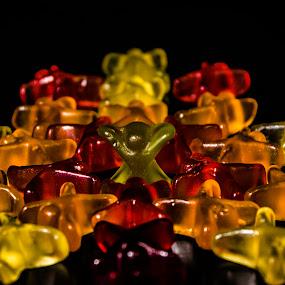 superstar gummibear by Adrian Kurbegovic - Food & Drink Candy & Dessert