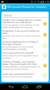 100 Telephone Success Phrases - screenshot thumbnail