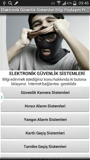 Güvenlik Sistemleri Bilgi
