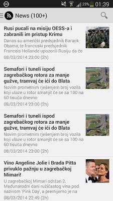 Najnovije vijesti - screenshot
