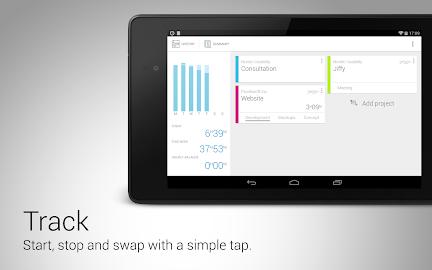 Jiffy - Time tracker Screenshot 2