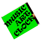Music Art Clock
