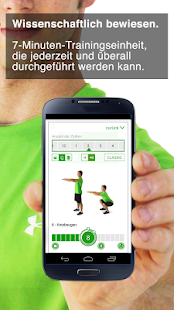 7-Minuten-Trainingseinheit Screenshot