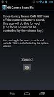 Screenshot of Galaxy Nexus Camera Sound Fix