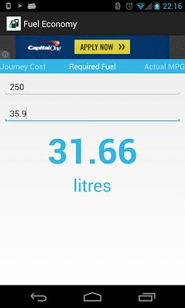 Fuel Economy 1.3 screenshot 2038147