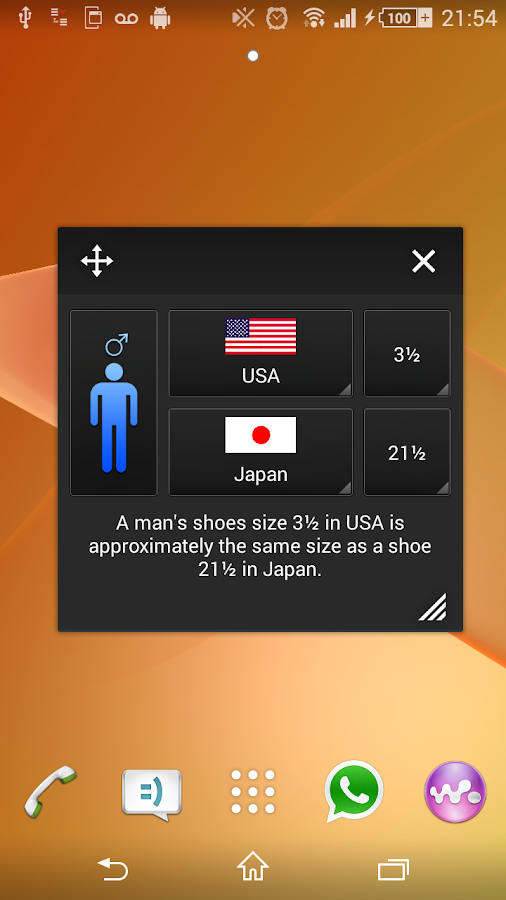 Shoe Size Small App- screenshot