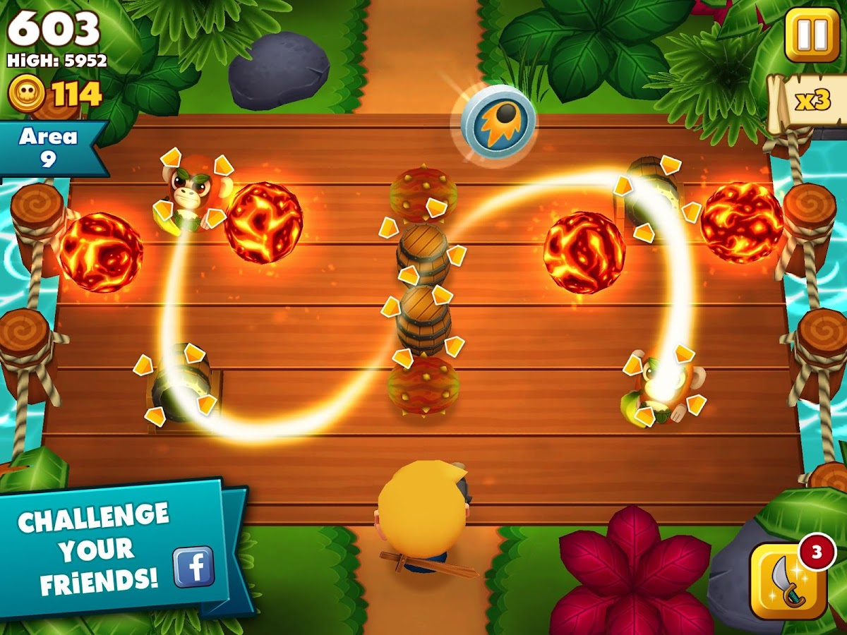 Tiki Monkeys- screenshot