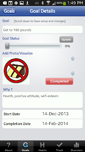 The Habit Factor® Goals,Habits - screenshot thumbnail