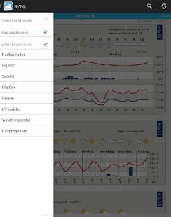 ByVejr - DMI - Vejret - screenshot thumbnail