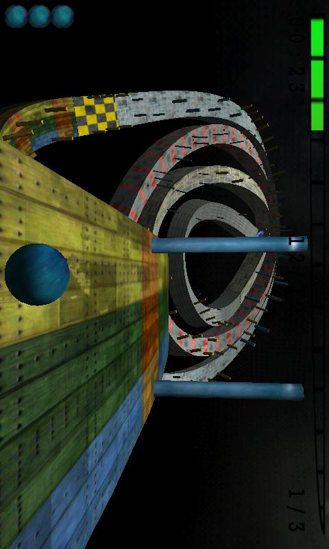 Skyball (3D Racing game) - screenshot