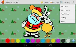 Screenshot of Burt's Coloring Book HD