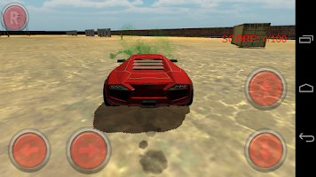 Screenshot of Zombie Smash Car