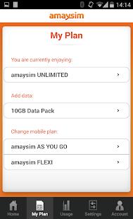 amaysim - screenshot thumbnail