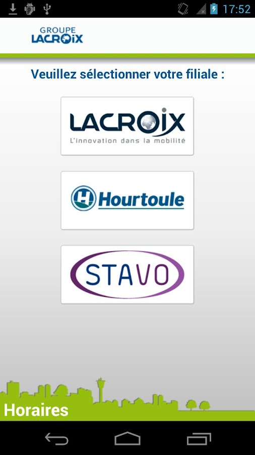 Groupe Lacroix- screenshot