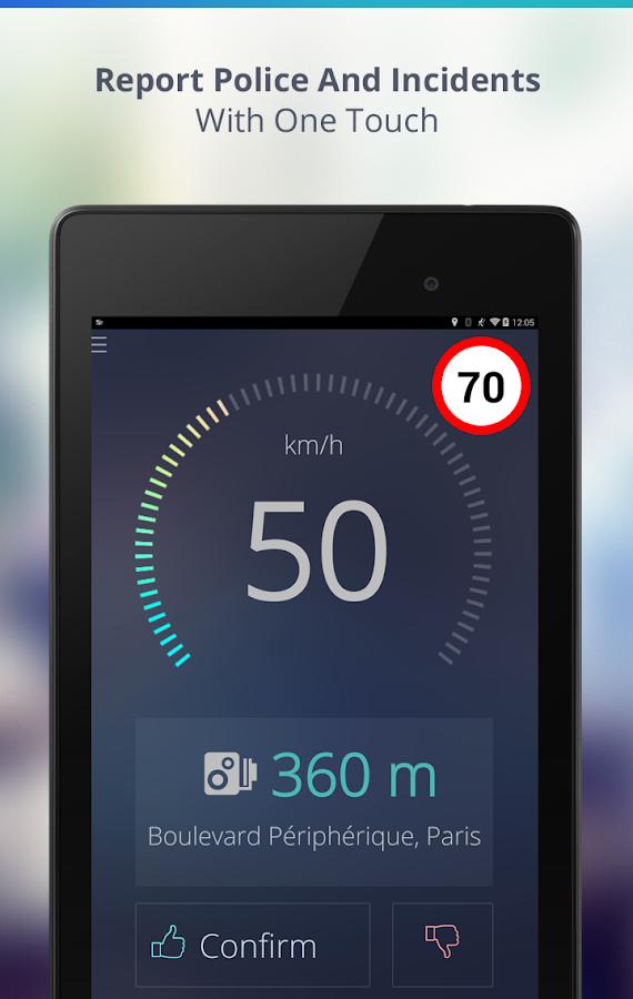 Speed Cameras by Sygic - screenshot