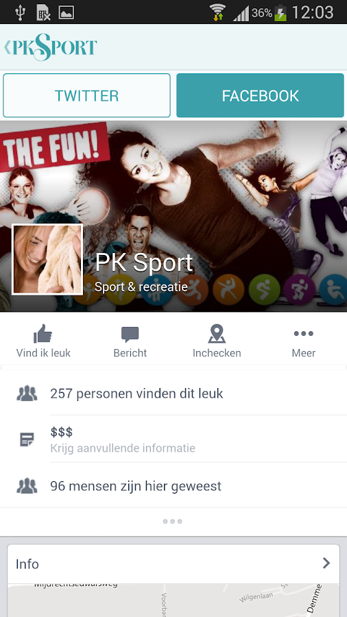 PK Sport - screenshot