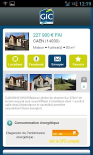 Gic Immobilier - screenshot thumbnail