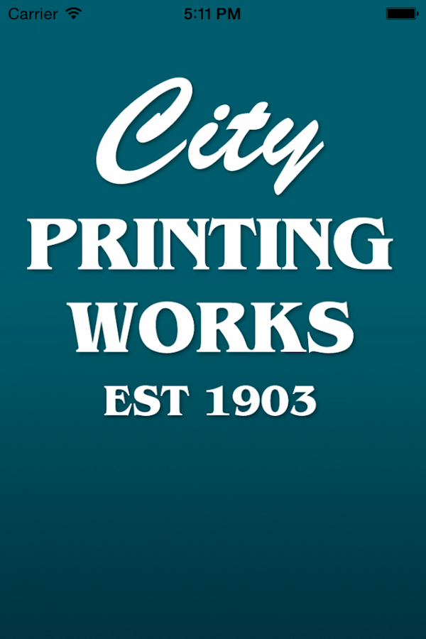 City Printing Works- screenshot