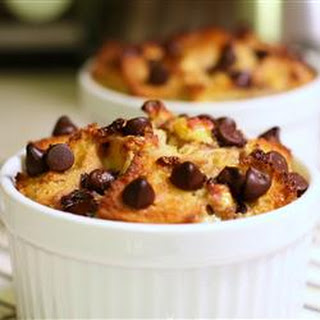Chocolate Banana Bread Pudding.