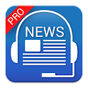 Audio News Pro:hands&eyes free icon