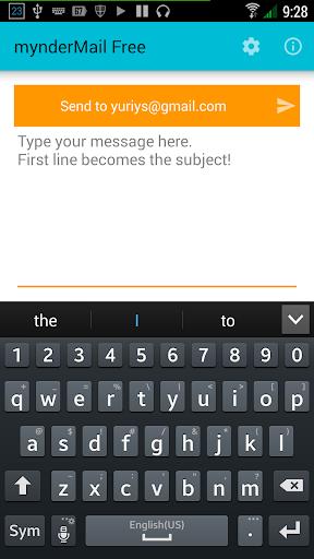 mynderMail Free